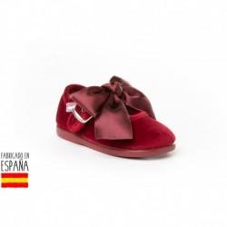 Calzado descanso detalle maxi lazo, made in spain - ANGELITOS - ANGI-145