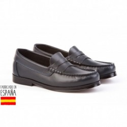 Mocasines piel, made in spain - ANGELITOS - ANGI-593