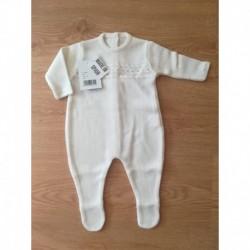Comprar ropa de niño online Pelele punto fabricado en
