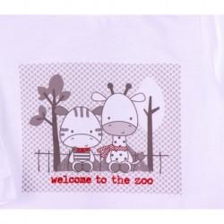 Camiseta con zebra-ALM-BBI04046
