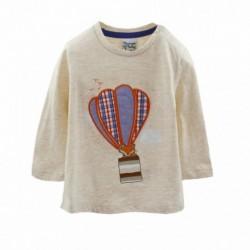 Camiseta con un globo aerostático-ALM-BBI05016