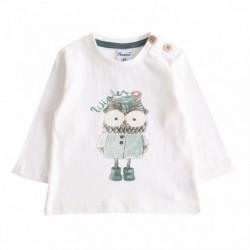 Camiseta con búho-ALM-BBI67079