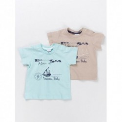 Comprar ropa de niño online Camiseta con un barco-ALM-BBV04046