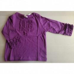Comprar ropa de niño online Camiseta manga larga detalle puños