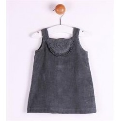 Vestido manga corta-ALM-BGI02555