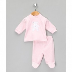 Pijama tipo pelele manga larga tundosado-ALM-BGI03160