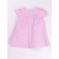 Vestido manga corta-ALM-BGV02339