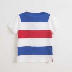 Comprar ropa de niño online Polo con logo-ALM-JBV07224