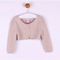 Comprar ropa de niño online Torera de punto cierre