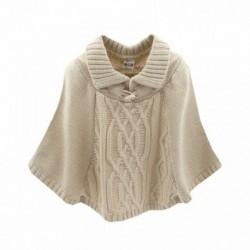 Comprar ropa de niño online Poncho de punto-ALM-JGI05785