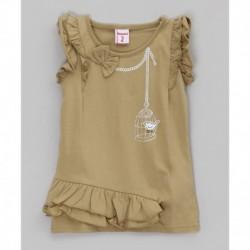 Camiseta con manga corta-ALM-JGV02478