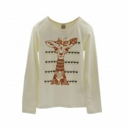 Camiseta manga larga dibujo girafa-ALM-KGI05933