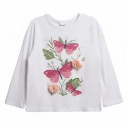 Comprar ropa de niño online Camiseta mariposas y flores