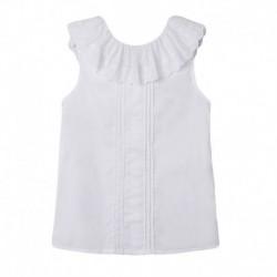 Comprar ropa de niño online Blusa fiesta cuello volante