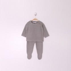Comprar ropa de niño online Conjunto Rec Nacido Color Gris