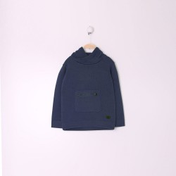 Comprar ropa de niño online Jersey Niño Color Azul Noche