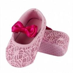 Comprar ropa de niño online Bailarinas bebé rosas ALM-62443R