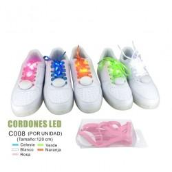 Comprar ropa de niño online Cordones led tamaño: 120 cm IBB-C008