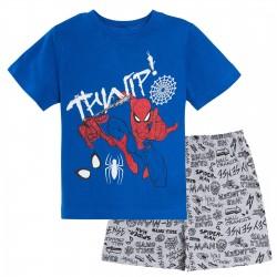 Pijama corto 100% algodón-SCFV-ET2000-SPIDERMAN