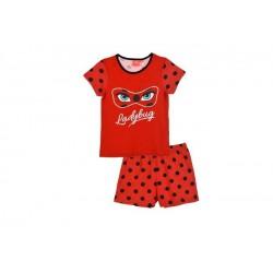 Pijama corto topitos LADY BUG