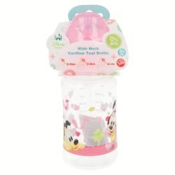 Biberon cuello ancho 240 ml | tetina silicona 3 posiciones minnie mouse - disney - baby paint pot-STI-39902-Disney