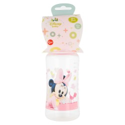 Biberon cuello ancho 360 ml | tetina silicona 3 posiciones minnie mouse - disney - baby paint pot-STI-39903-Disney