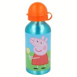 Comprar ropa de niño online Botella aluminio 400 ml | peppa