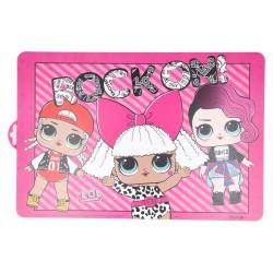 Comprar ropa de niño online Mantel individual lol surprise rock