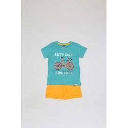 Conjunto corto niño algodón-ALM-20424-Street Monkey