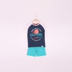 Comprar ropa de niño online Conjunto niño pantalón corto y