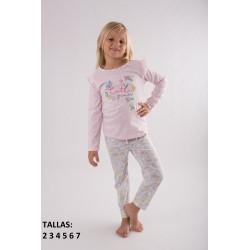 Comprar ropa de niño online Pijama largo niña