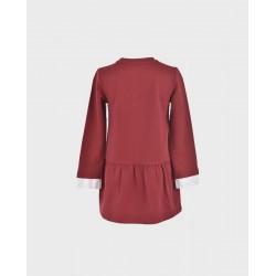 Comprar ropa de niño online Vestido niña tipo sudadera