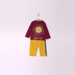 Comprar ropa de niño online Conjunto bebe niño color