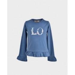 Comprar ropa de niño online Camiseta niña manga larga azafata