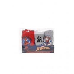 Caja 3 slips 100% algodón-ET3005-SPIDERMAN