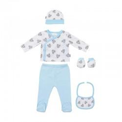 Comprar ropa de niño online Set regalo 5 piezas algodón