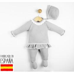 Comprar ropa de niño online Conjunto 3 piezas punto bebé