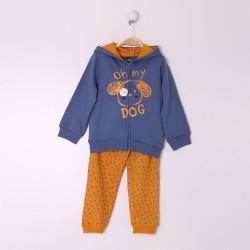 Comprar ropa de niño online Conjunto largo bebe niño color