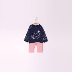 Comprar ropa de niño online Conjunto bebe niña largo, detalles