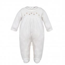 Comprar ropa de niño online Pelele plumeti-ALM-MN8186-6-MINHON