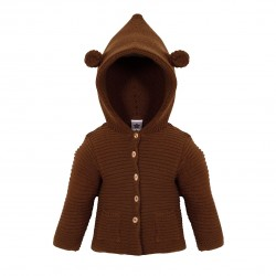 Comprar ropa de niño online Chaqueta doble punto bebé detalle