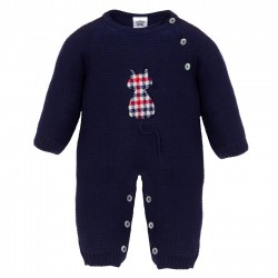 Comprar ropa de niño online Pelele punto sin