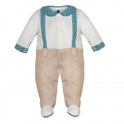 Comprar ropa de niño online Pelele estampado imitación pantalón