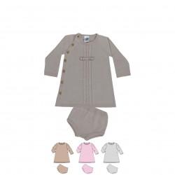 Comprar ropa de niño online Vestido de punto bebé con