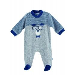 Comprar ropa de niño online Pijama tipo pelele largo Oso
