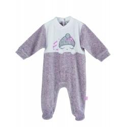 Comprar ropa de niño online Pijama tipo pelele largo Calamaro