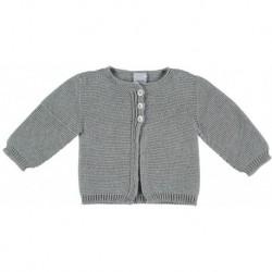 Comprar ropa de niño online Chaqueta punto puño - Babidú -