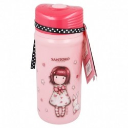 Botella aluminio 400 ml | minnie mouse - disney - electric doll-STI-18834-Disney