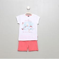Conjunto corto bebe niña-SMV-20106-UNICO-Street Monkey