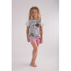 Pijama niña corto 'wishes-'-ALM-20117554-TOBOGAN